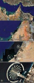 clique aqui para ver Dubai do espaço