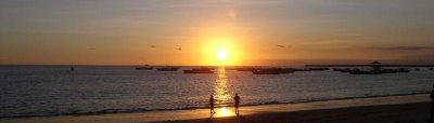 Por do Sol em Bali, Vilarejo de Janbaram