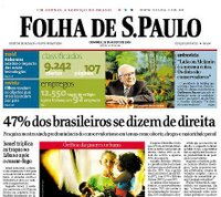 """Deu na """"Folha de São Paulo"""""""