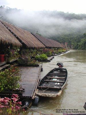Jungle Raft at River Kwai