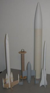 picture of rockets currently under construction