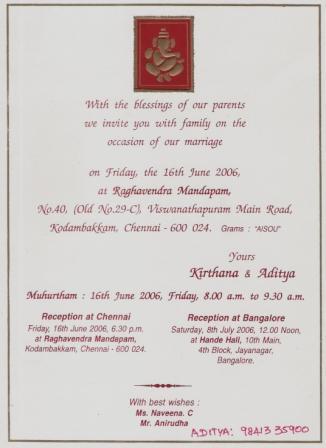 hindu marriage invitation wordings in kannada yaseen for