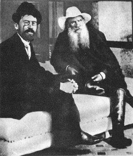 Chejov y Tolstoi