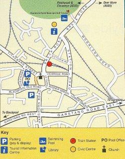 Poulton le Fylde street map