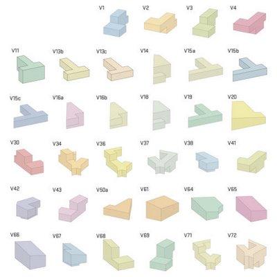 3D Tetris Block