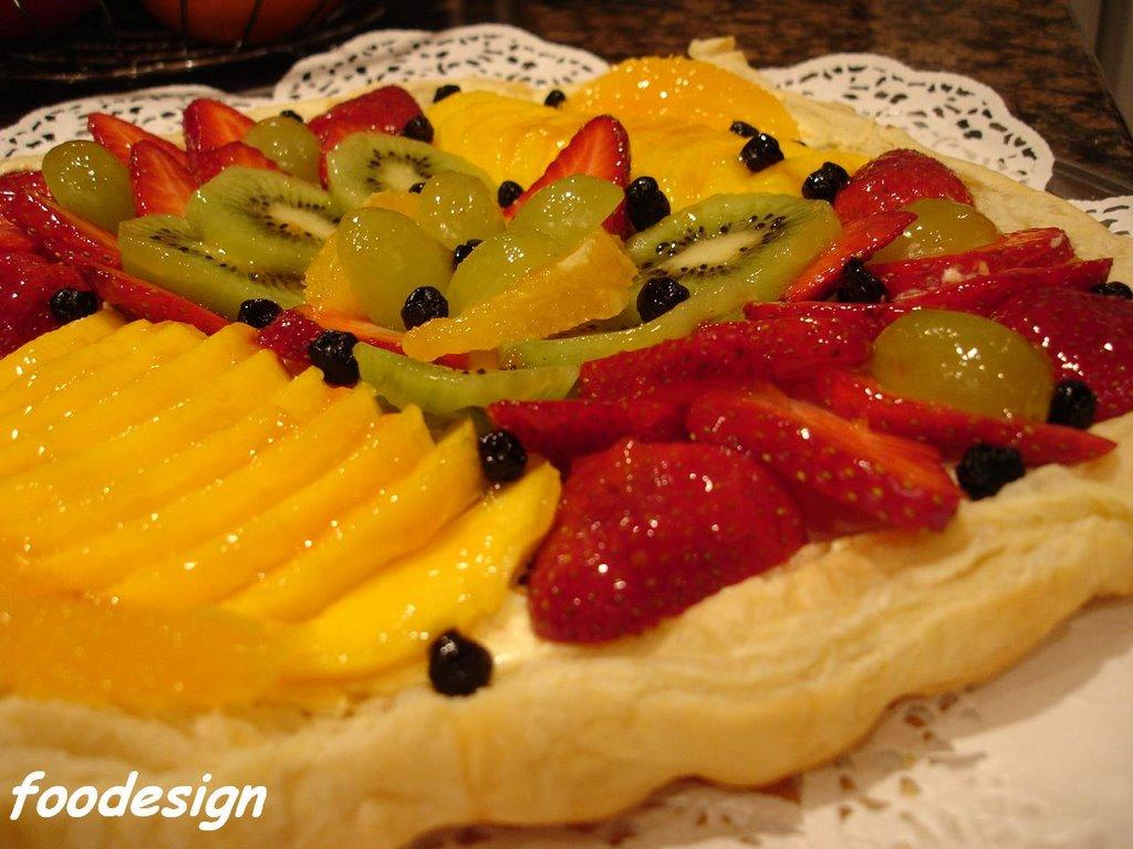 Fruit Pizza I Recipe — Dishmaps