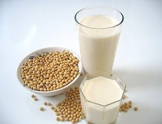 Soybean Milk is Vegetarian Milk in Thailand