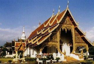 Wat Chiang Man in Thailand