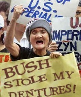 Cindy Sheehan berates Bush. http://markinmexico.blogspot.com/ Mark in Mexico, moderate to conservative opinion on news politics government and current events. News and opinion on Mexico.