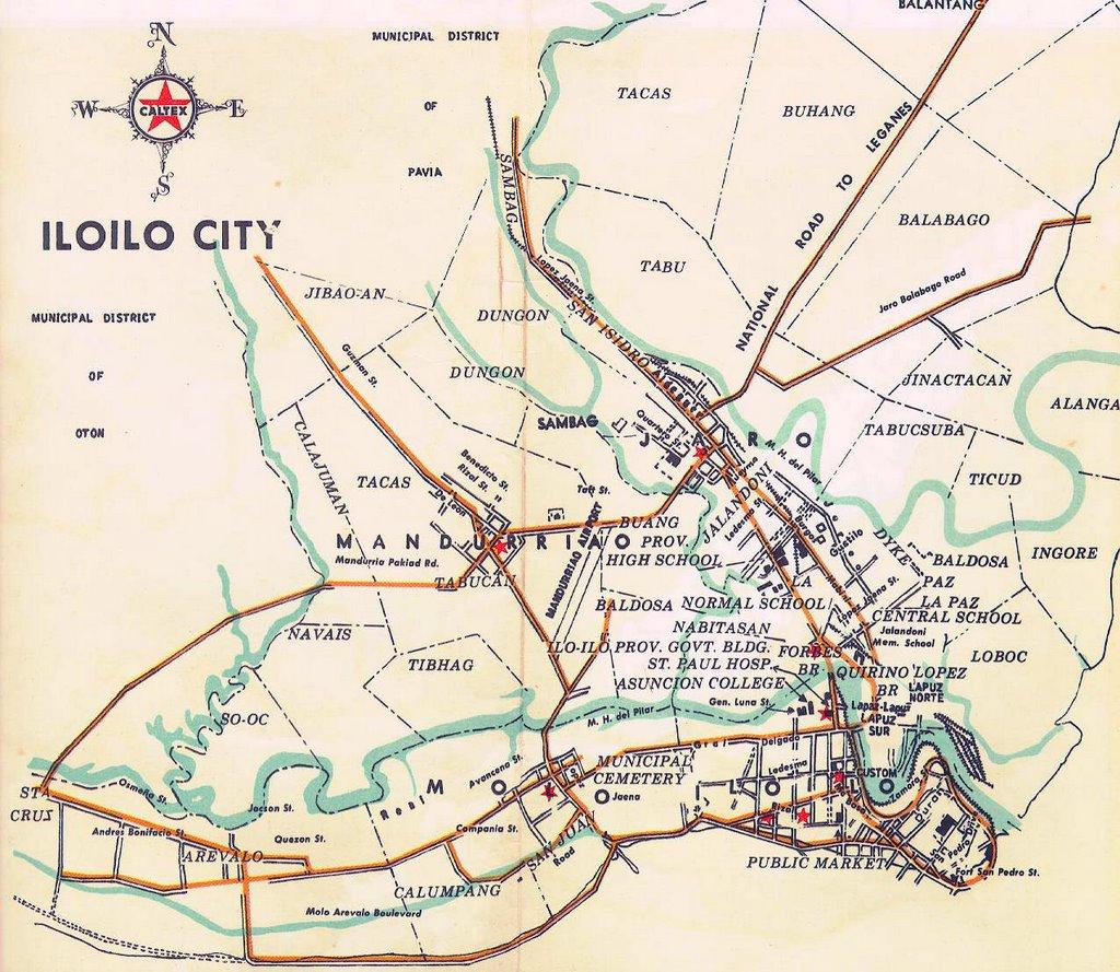 Iloilo City - Iloilo city map