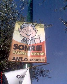 AMLO Presidente Elecciones 2006 México