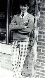 John Roberts at La Lumiere School, circa 1972. Is this the wardrobe of a gay guy? You're damn right it is