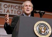 non-allegiance to bush is terrorism