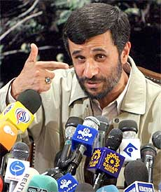 Some see Ahmadinejad himself as just a cameo player in a rigged game.