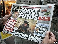 german troops in skull photos controversy