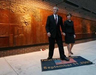 america: bush's doormat