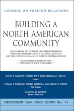 council on foreign relation's 'building a north american community' PDF