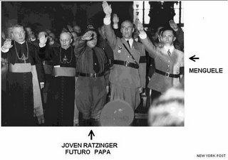 mediamonarchy-ratzinger & mengele