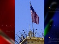 Syria says US behind attack on own embassy