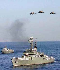 war games in persian gulf: a provocation?