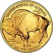 Buffalo 24-Karat (.9999) Gold Coin