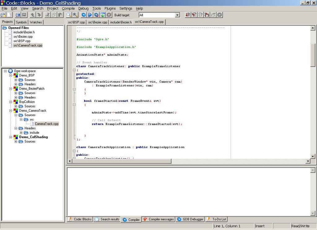 code blocks vs visual studio