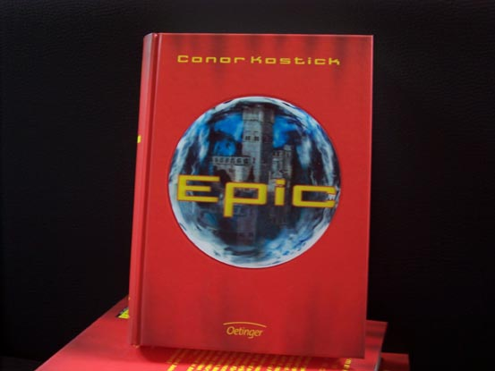 Cover of Epic by Conor Kostick