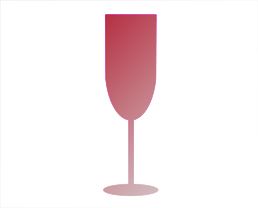 Champagne and Sparkling wine flutes