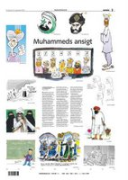 Page three of Jyllands-Posten's culture section - 30 September 2005