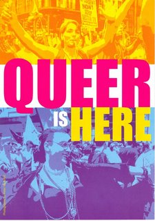 Queer Is Here flyer