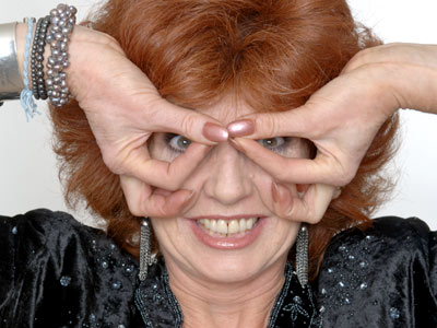 The 'mad polish countess', Rula Lenska