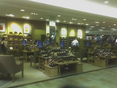 Dillard S Northlake Mall Charlotte North Carolina Men Shoes Department Photographed With Camera Phone 9 16 05