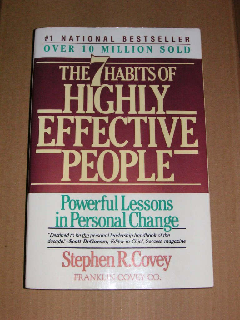 a discussion on solving personal and professional problems in the 7 habits of highly effective peopl Stephen r covey's book, the 7 habits of highly effective people, has been a top seller for the simple reason that it ignores trends and pop psychology for celebrating its 15th year of helping people solve personal and profes.