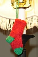 Ornament 3 - Mini Stocking