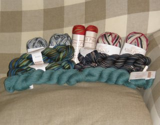 A lot of Knit Picks Yarns!!!