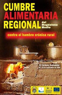 Afiche Cumbre Alimentaria Regional