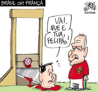 Como mostra o Tiago Recchia (Gazeta do Povo - PR), o que nos resta é torcer pelo Felipão, este sim um técnico de verdade