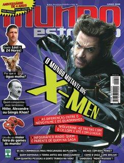X-Men na capa da Mundo Estranho