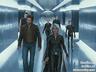 Os X-Men saindo da Sala de Perigo