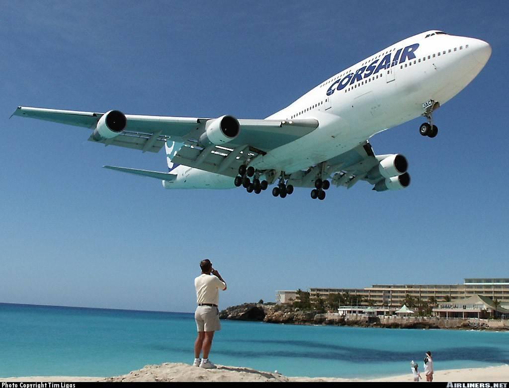 aeropuerto de saint martin es una isla