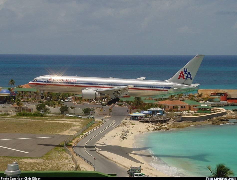 aeropuerto de saint martin es un