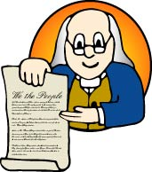 United States Constitution Rights Clip Art
