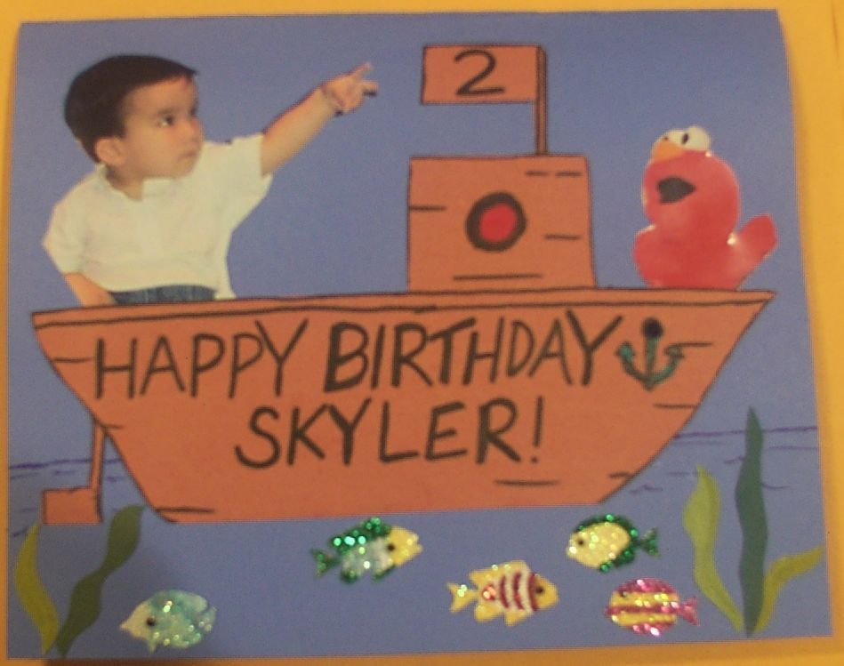 Shayna Skylers World Birthday card for Sprout