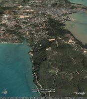 Google Earth view of Khao Khad