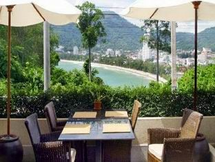 Baan Yin Dee - View from the restaurant over Patong Bay