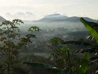 Early morning light over Kathu, Phuket