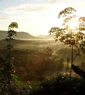 View over Kathu from Patong Hill, 14th October, 6:45am