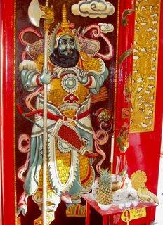 Inside Sam Kong shrine