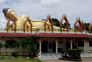 Some decent blue sky over Wat Sri Sunthorn, 13th August 2006