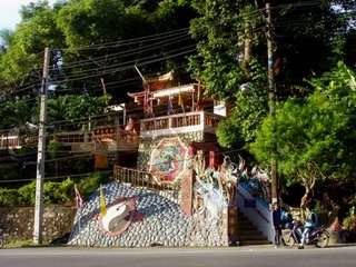 Chinese Shrine on Patong Hill, 1st June 2006